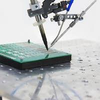 equipment for soldering chips