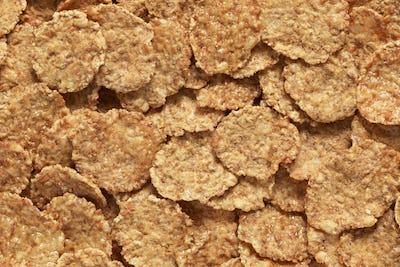 Wheat flakes background