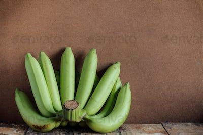 bananas on old wood