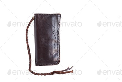 purse on white background