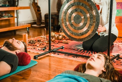 Gong in sound therapy
