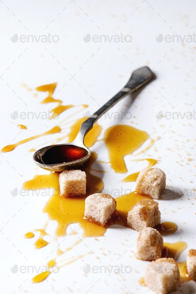 liquid sugar caramel