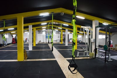 Cross fitness gym