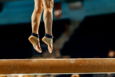 legs woman gymnast