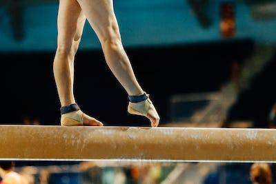 artistic gymnastics legs women gymnast