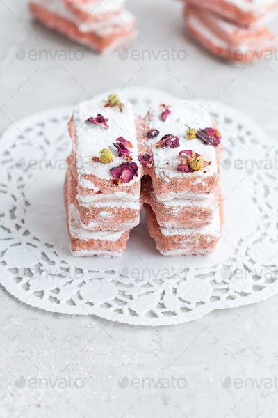 Pink Lady Finger Biscuits