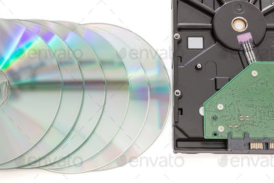 Hard disk drive and dvd disc-3
