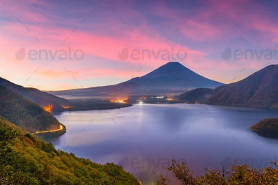 Mt. Fuji, Japan Autumn