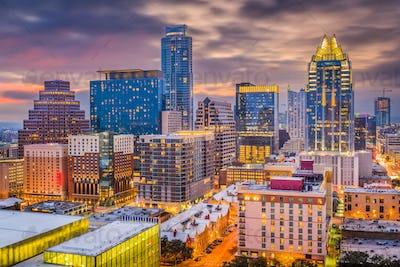 Austin, Texas, USA Cityscape