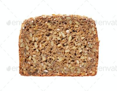 slice of sunflower bread