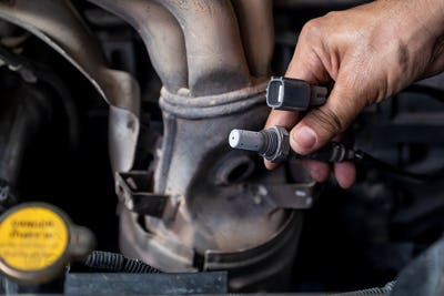 Check and change the oxygen sensor car.