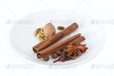 Fragrant spices.