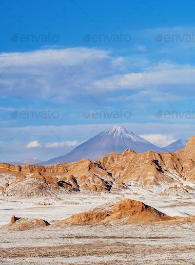 Moon Valley, Atacama Desert in Chile