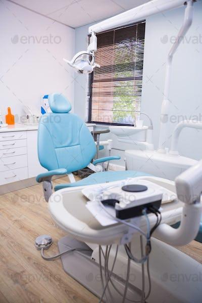 Medical equipments at dental clinic