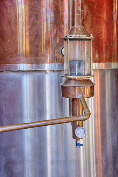 Alcohol Winery Still Alembic Detail