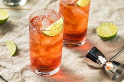 Homemade Sweet Cape Codder Cocktail