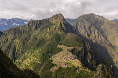 Machu Picchu Peru, huayna picchu