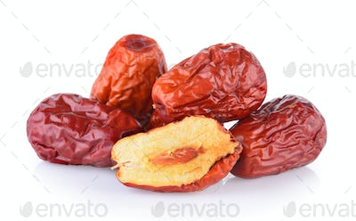 Dried red date or Chinese jujube