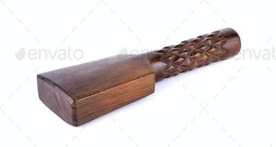Massage tool on white background