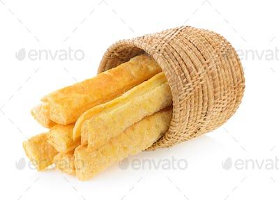 Pie or bread Sticks in basket