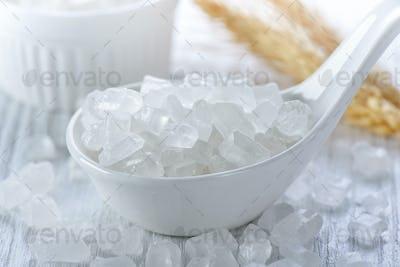 white rock sugar