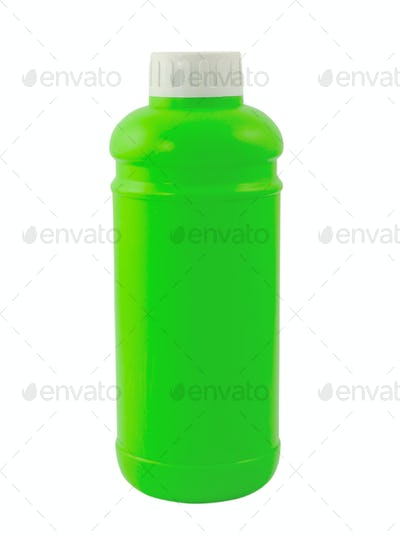 bottle isolated on white