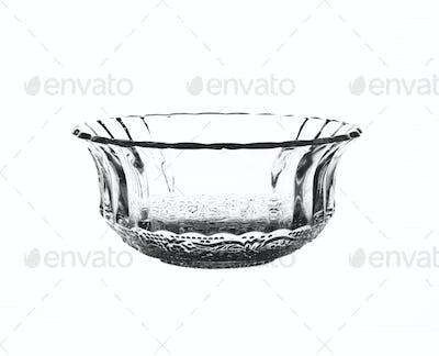 A glass bowl