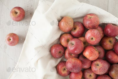 Top View Of Apples