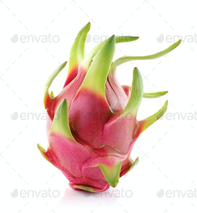 Dragon Fruit on white background
