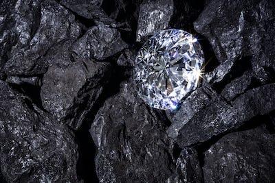 Diamong amongst Coal