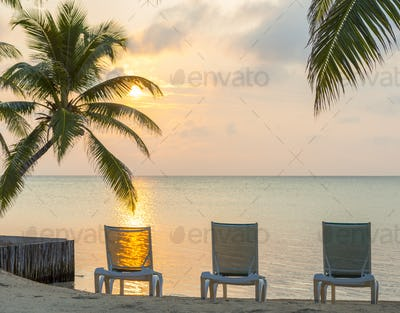 Sunrise On Dream Beach Vacation