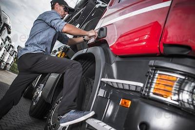 Truck Driver Job Theme