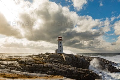 Peggys Cove Lighthouse NS Canada