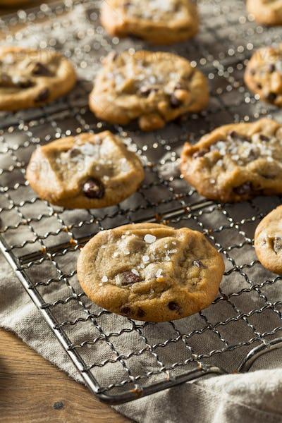 Homemade Sea Salt Chocolate Chip Cookies