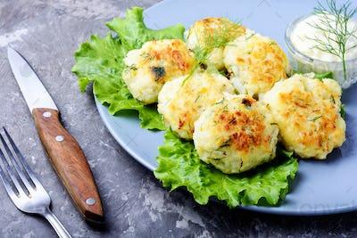 Vegan vegetable cutlet