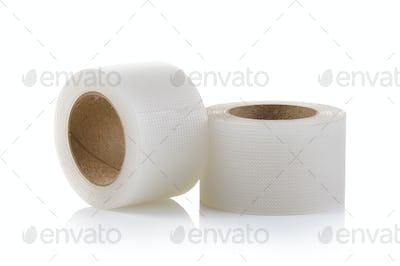 Tape, medical on white background