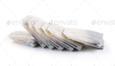 Teabag Isolated on white background