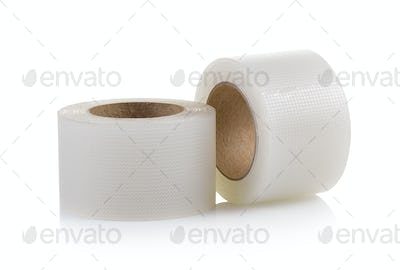 Tape, medical on white background
