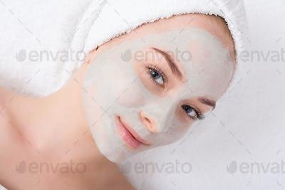 Face mask, spa beauty treatment, skincare