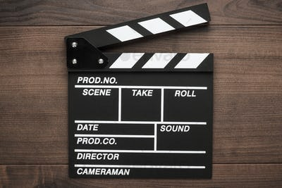 Vintage Classic Clapperboard