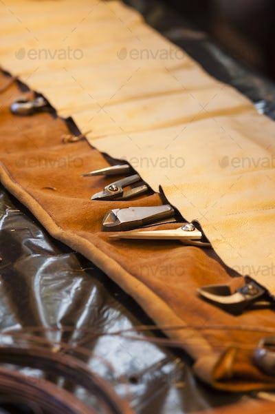 Bonsai tree tools.
