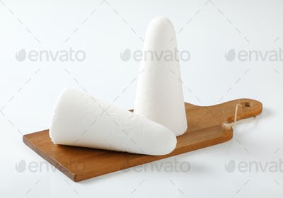 white sugar loaves or cones