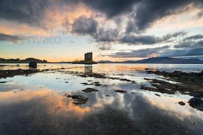 Castle Stalker in Scotland