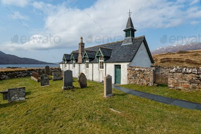 Old Kirk at Inchnadamph