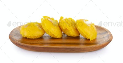 sugar palm cake with or Toddy palm cake