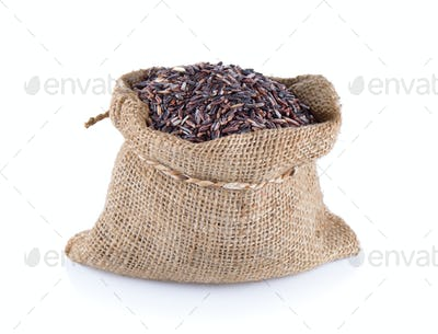 Rice Berry in sack