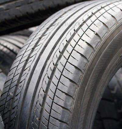 Closeup old tires-2