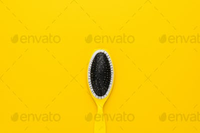 Yellow Massage Comb