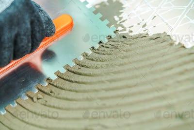 Installation of Ceramic Tiles