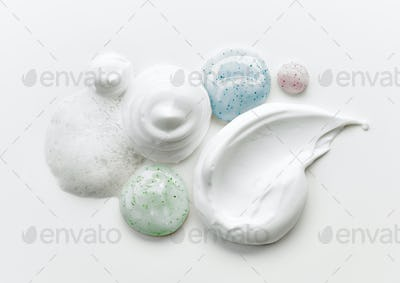 various cosmetic creams